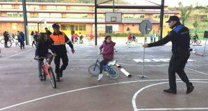Xornada de Educación Viaria no CEIP Manuel Respino da Rúa