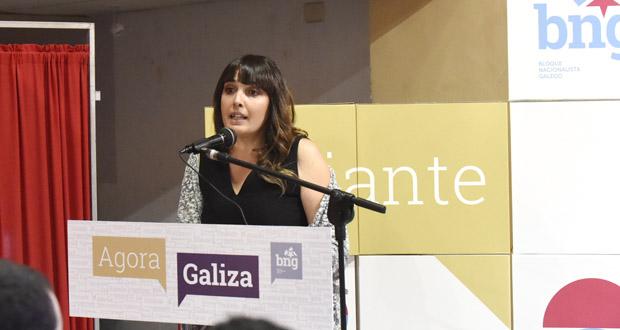"""Photo of María G. Albert: """"Unha das claves do mandato que vén é traballar pola Rúa do futuro"""""""