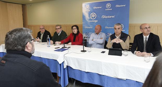 Photo of Os candidatos do PP ao Congreso e ao Senado presentan en Trives o seu programa electoral