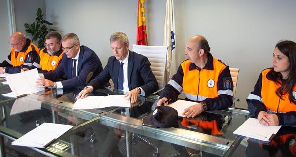 Photo of A Asociación Provincial de Protección Civil de Ourense asina un convenio de colaboración coa Xunta