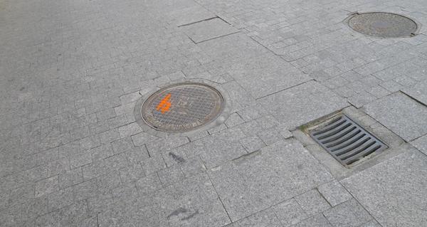 Photo of Obras de rehabilitación de infraestruturas de saneamento no casco antigo barquense