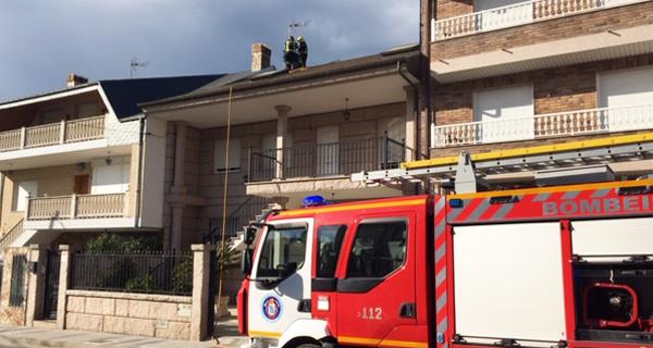 Photo of Incendio na cheminea dun chalé en Viloira (O Barco)