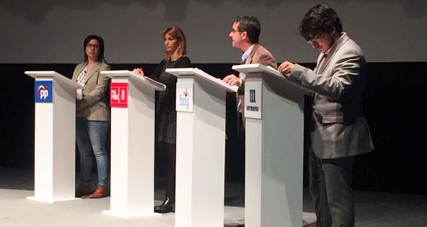 Photo of Infraestruturas, demografía ou sanidade, no primeiro debate das eleccións xerais na provincia
