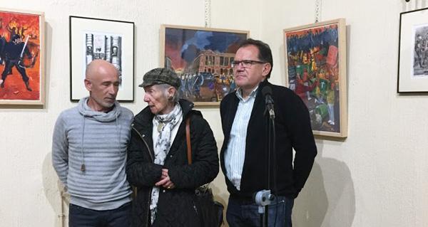 Photo of A pintura do barquense Jesús Díaz regresa ao Liceo de Ourense