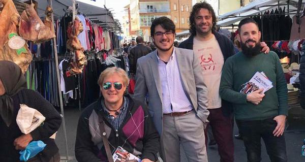 Photo of O cabeza de lista de En Marea por Ourense ao Congreso, en Viana e Verín
