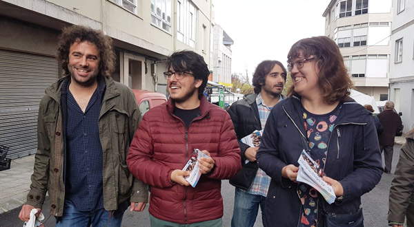 Photo of Iván Olmos, candidato ao Congreso de En Marea por Ourense, en Trives