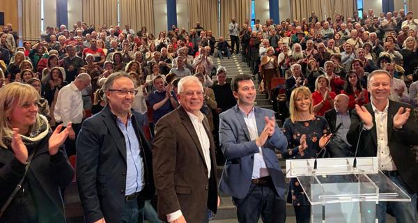Photo of Os socialistas abren a campaña electoral en Ourense nun acto con Josep Borrell