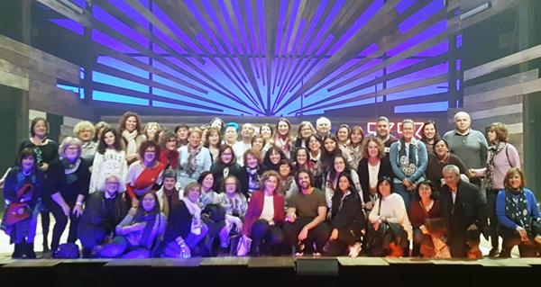 """Photo of Un grupo de barquenses viaxan a Madrid para ver """"33"""", musical protagonizado por Christian Escuredo"""