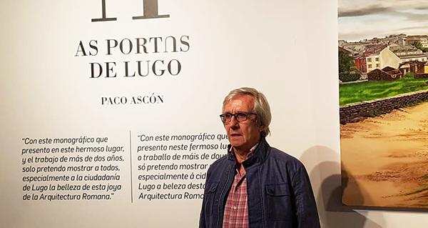 """Photo of """"As portas de Lugo"""", un monográfico pictórico de Paco Ascón"""