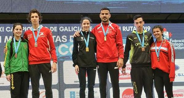 Photo of O atleta valdeorrés Alejo Ares (Adas), campión galego de milla en ruta