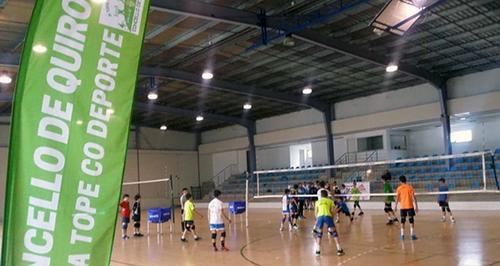 Photo of Concentracións de voleibol de Semana Santa en Quiroga