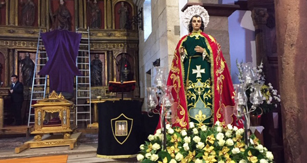Photo of Todo listo na parroquia ruesa de Santo Estevo para o desencravo