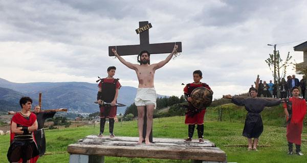 Photo of Rubiá escenifica a Paixón de Cristo