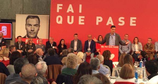 Photo of O xantar-mitin de Pedro Sánchez en Ourense, en imaxes