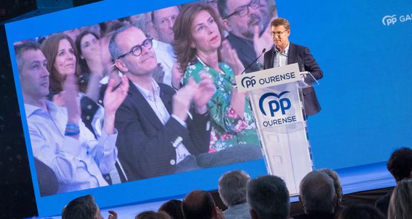 """Photo of Feijóo: """"Jesús Vázquez non é só o candidato do PP, é o de todos os ourensáns que queren a Ourense"""""""