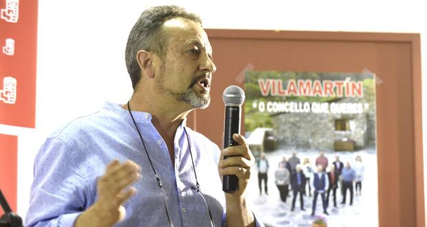 """Photo of Enrique Álvarez: """"Queremos seguir facendo o tipo de políticas nas que a xente participa"""""""