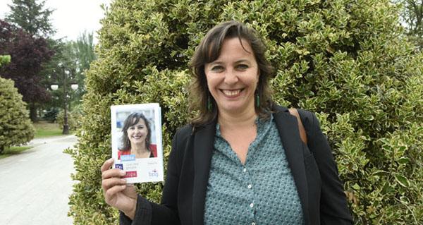 """Photo of Ana Miranda: """"Loitar pola terra, por que se poida vivir e traballar aquí é o noso ADN"""""""