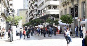A campaña electoral na cidade de Ourense, a pé de rúa