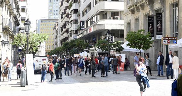Photo of A campaña electoral na cidade de Ourense, a pé de rúa