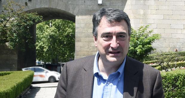 Photo of Aitor Esteban visita Ourense para apoiar a candidatura de Compromiso por Galicia