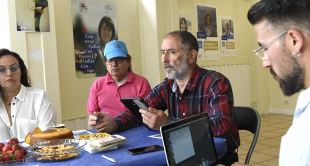 """Photo of Suso Vilasánchez: """"O noso programa é moi social, queremos un concello máis cercano aos cidadáns"""""""