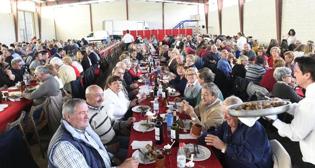 Photo of A Festa do Cordeiro de Larouco congrega a unhas 400 persoas