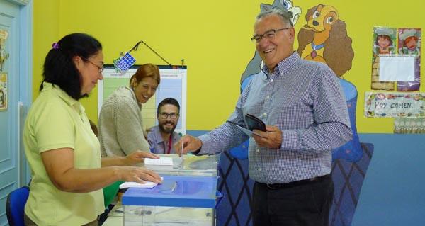 Photo of As votacións dos candidatos á alcaldía do Barco