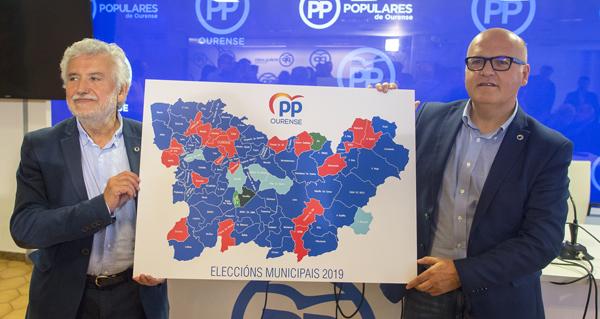 """Photo of Baltar: """"O PP foi a forza máis votada en 64 dos 92 concellos da provincia"""""""