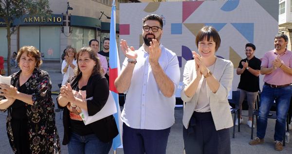 """Photo of Diego Lourenzo, candidato nacionalista á alcaldía verinesa, propón un """"Verín que pense en colectivo"""""""