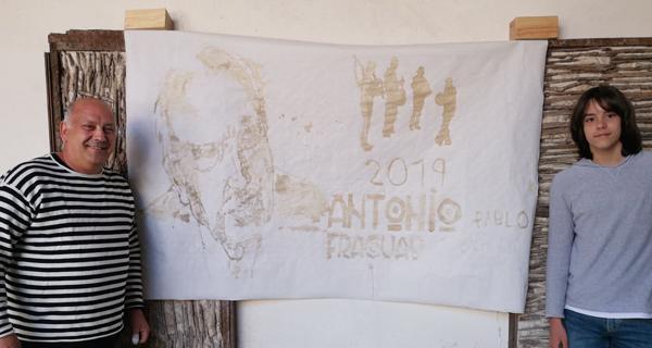 Photo of Café e creatividade valdeorresa para homenaxear a Antonio Fraguas