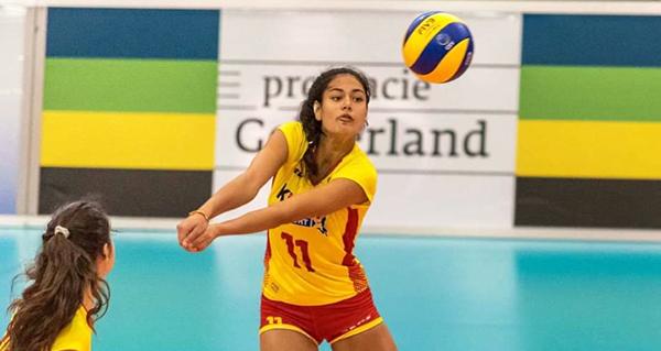 Photo of A quiroguesa Carolina Camino, convocada pola Selección Absoluta Española de Voleibol