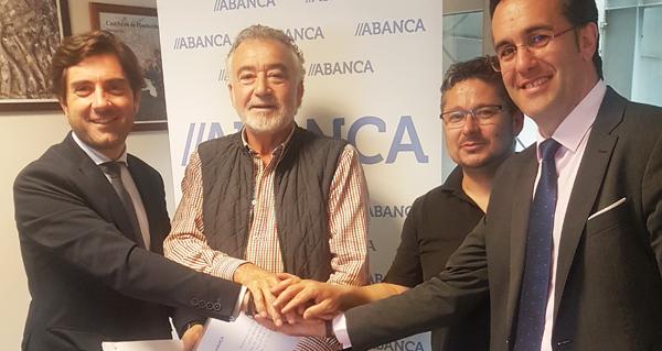 Photo of Os empresarios do polígono barquense da Raña asinan un convenio con Abanca