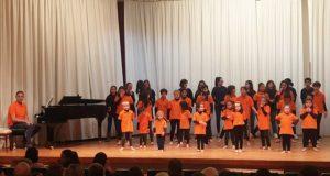 A Coraliña Cantora de Trives, no XII Festival de Coros Infantís e Xuvenís da FECOGA