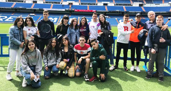 Photo of Viaxe cultural a Madrid do alumnado do IES Cosme López da Rúa