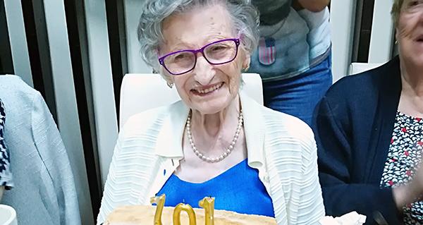 Photo of A barquense Asunción Cruz Rodríguez cumpre 101 anos