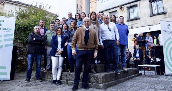 Photo of Espazo Común presenta a súa candidatura no Carballiño, liderada por Pachi Vázquez