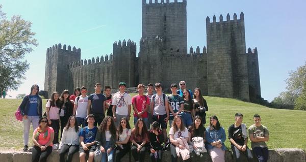 Photo of Visita cultural a Guimarães de alumnos do IES Cosme López da Rúa