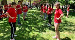 Baile e música tradicional polas Letras Galegas no CEIP Otero Pedrayo de Viloira