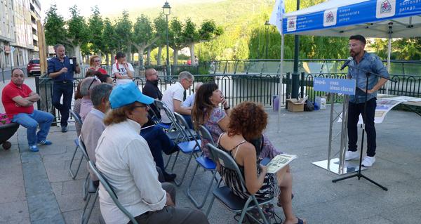 """Photo of O BNG do Barco celebra as Letras Galegas con poesía e defende """"outra forma de facer cultura"""" neste concello"""
