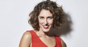 Lucía Álvarez, na Clausura da XXXI Semana de Cine Español de Mula (Murcia)