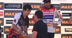 O barquense Jorge Paradelo, dobre podio na proba do mundial de enduro en Santiago