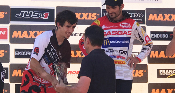 Photo of O barquense Jorge Paradelo, dobre podio na proba do mundial de enduro en Santiago
