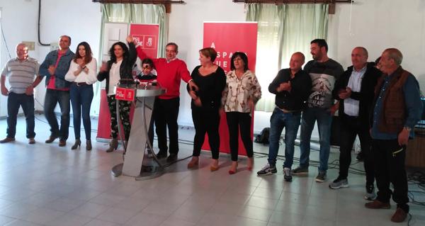 Photo of Preséntase a candidatura socialista ás eleccións municipais na Mezquita