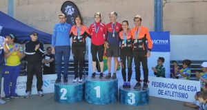 Iria Fernández (Adas) proclámase campioa galega absoluta nos 10 km ruta