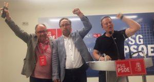O partido socialista gana as eleccións na cidade de Ourense e incrementa os votos na provincia