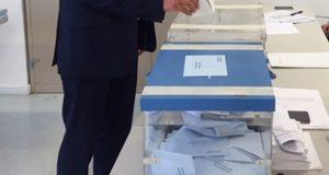 A votación dos cabezas de lista rueses, en imaxes