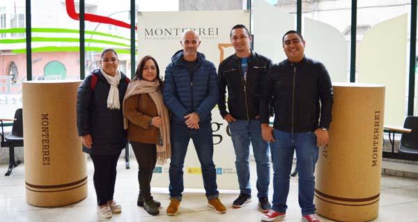Photo of Sumilleres e xornalistas peruanos visitan a D.O. Monterrei