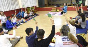Os alumnos do CEIP Manuel Respino da Rúa aprenden primeiros auxilios xogando