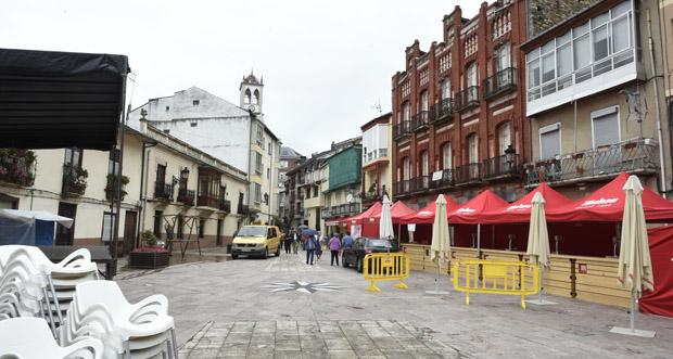 Photo of Suspéndense os actos do último día da Festa do Casco Vello do Barco polo mal tempo