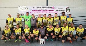 Os veteranos do C.D. Rúa viven unha gran experiencia no Torneo Internacional de Fútbol celebrado en Granada